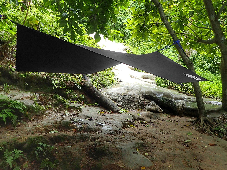 amazon     chill gorilla pro waterproof black tent tarp rain fly and hammock amazon     chill gorilla pro waterproof black tent tarp rain      rh   pinterest