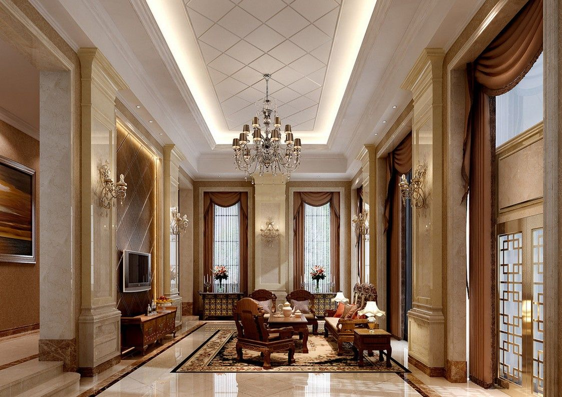 Villa Living Room Interior Design in Italy Create an