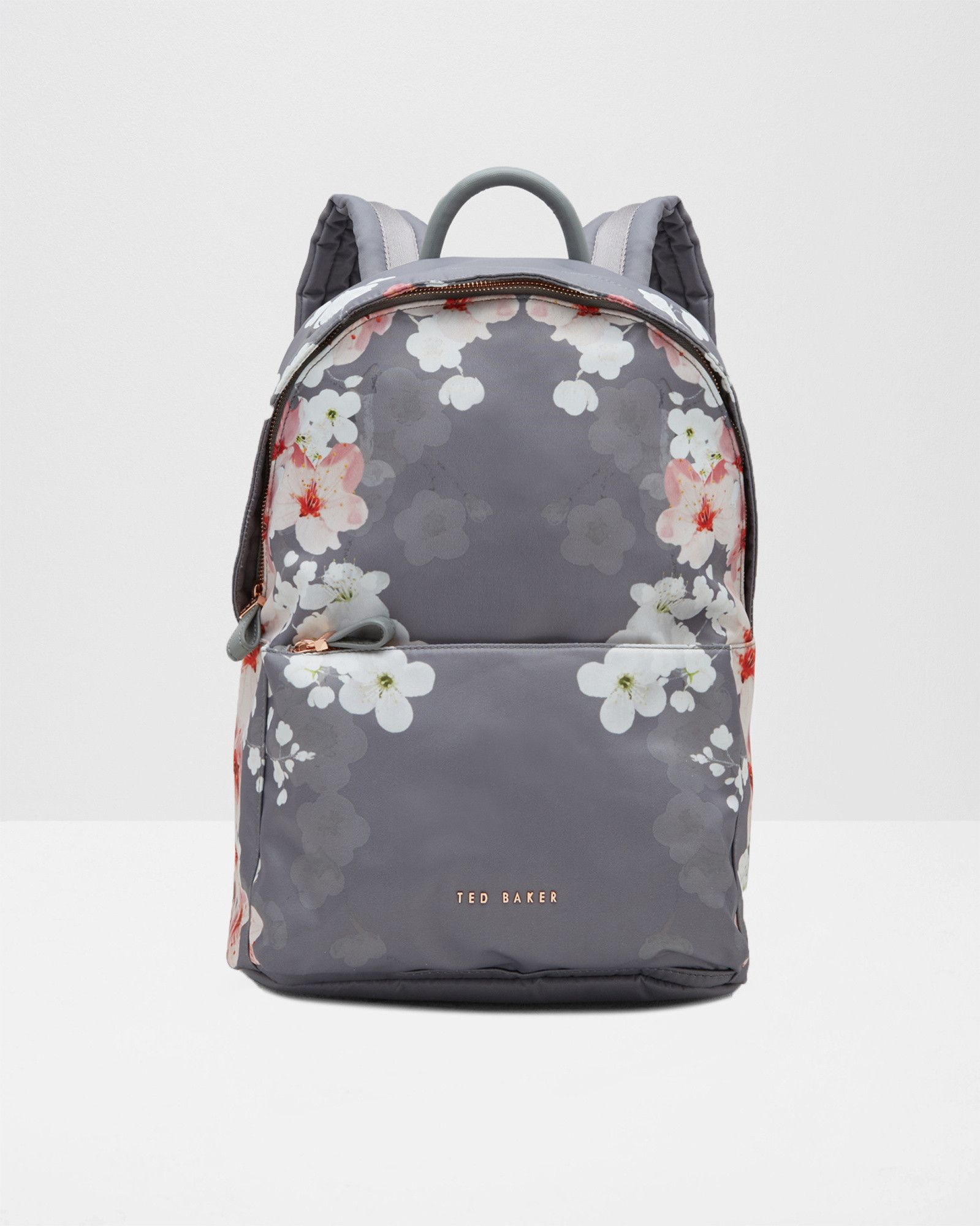 bb9f2fc88 Oriental Blossom backpack - Light Grey