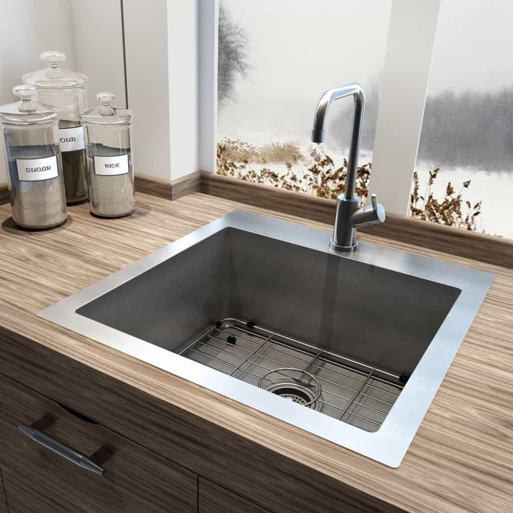 Kauf Single Bowl Kitchen Sink   Einbauküche   Pinterest   Einbauküchen