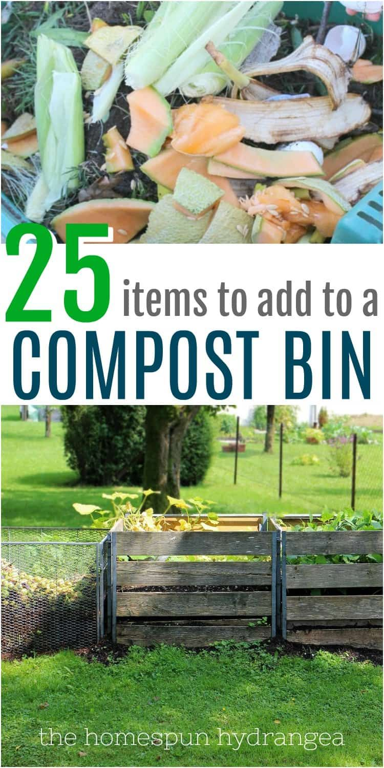 How To Make A Compost Bin Using Household Scraps Making A