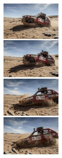 Iñaki Andrés: 205 Tropée. Marruecos 2016.