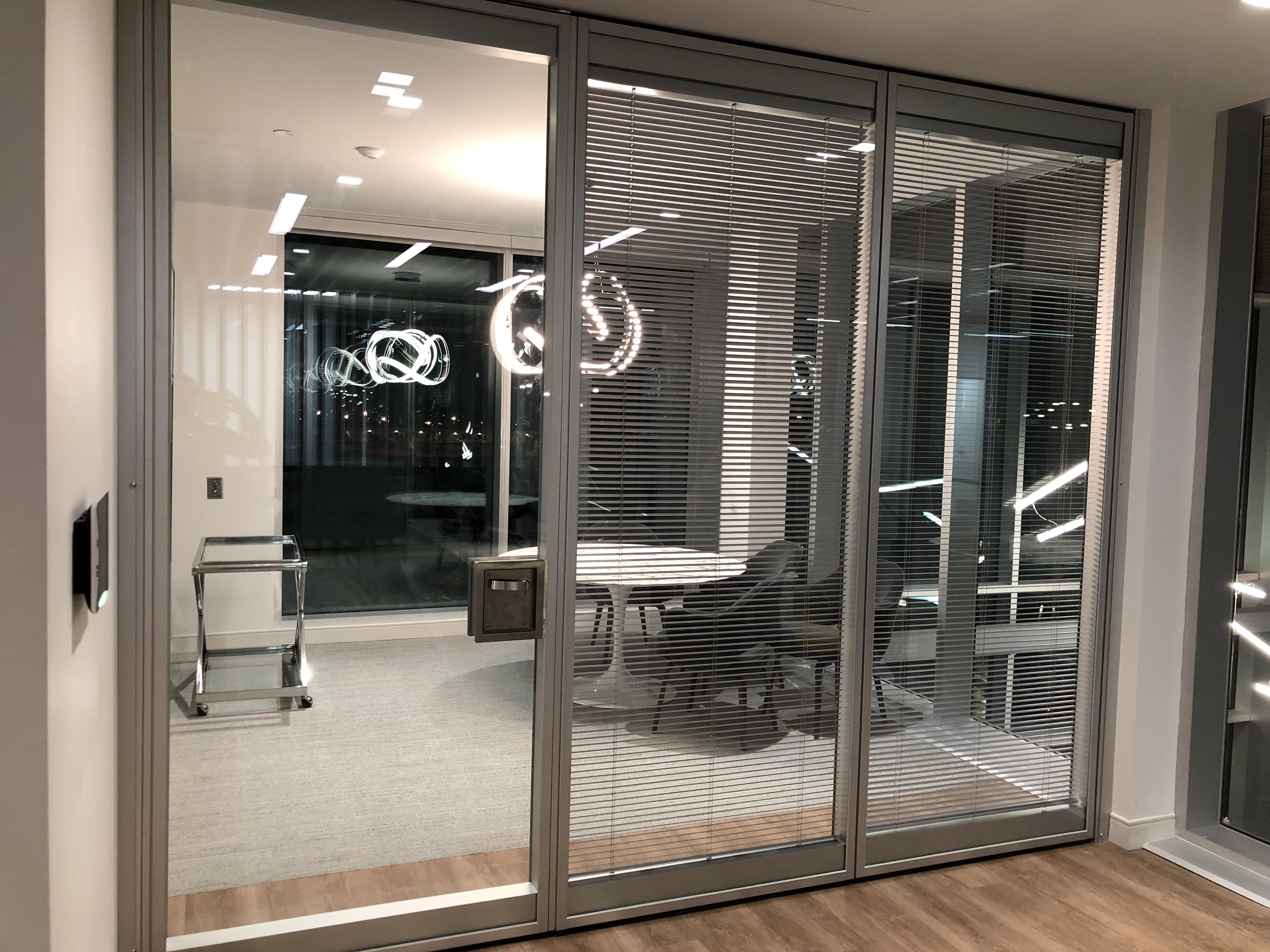 You Can Integrate Blinds For Added Privacy And Light Control Blinds Are Sealed Between Double Glazed Panels Protecting Them From Dirt Du Blinds Home Decor Decor