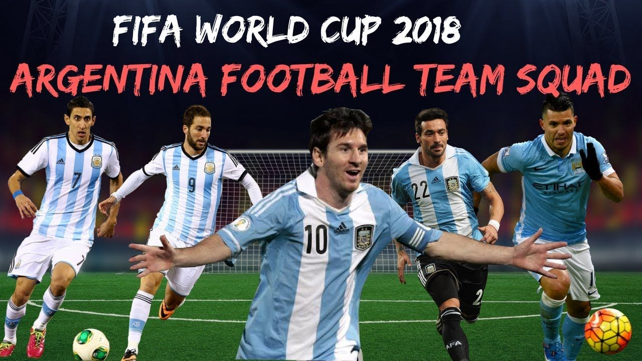 Argentina World Cup 2018 Squad Fifaworldcup Fifa2018 2018fifaworldcup Russiaworldcup Football Argentina Football Team Argentina Football World Cup