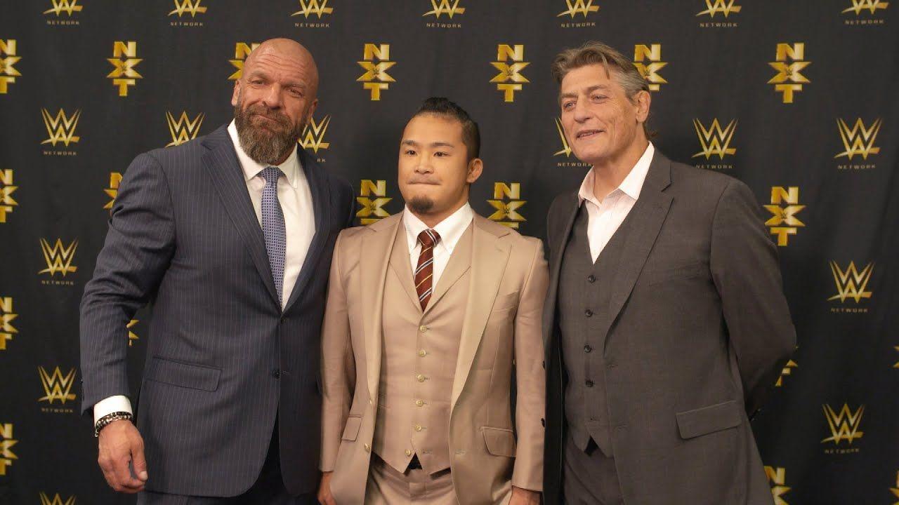 Former New Japan Pro Wrestling standout Kushida was revealed as the
