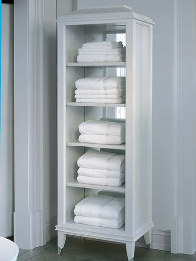 Bathroom Towel Storage Cabinets Image Of A Free Standing Shagreen