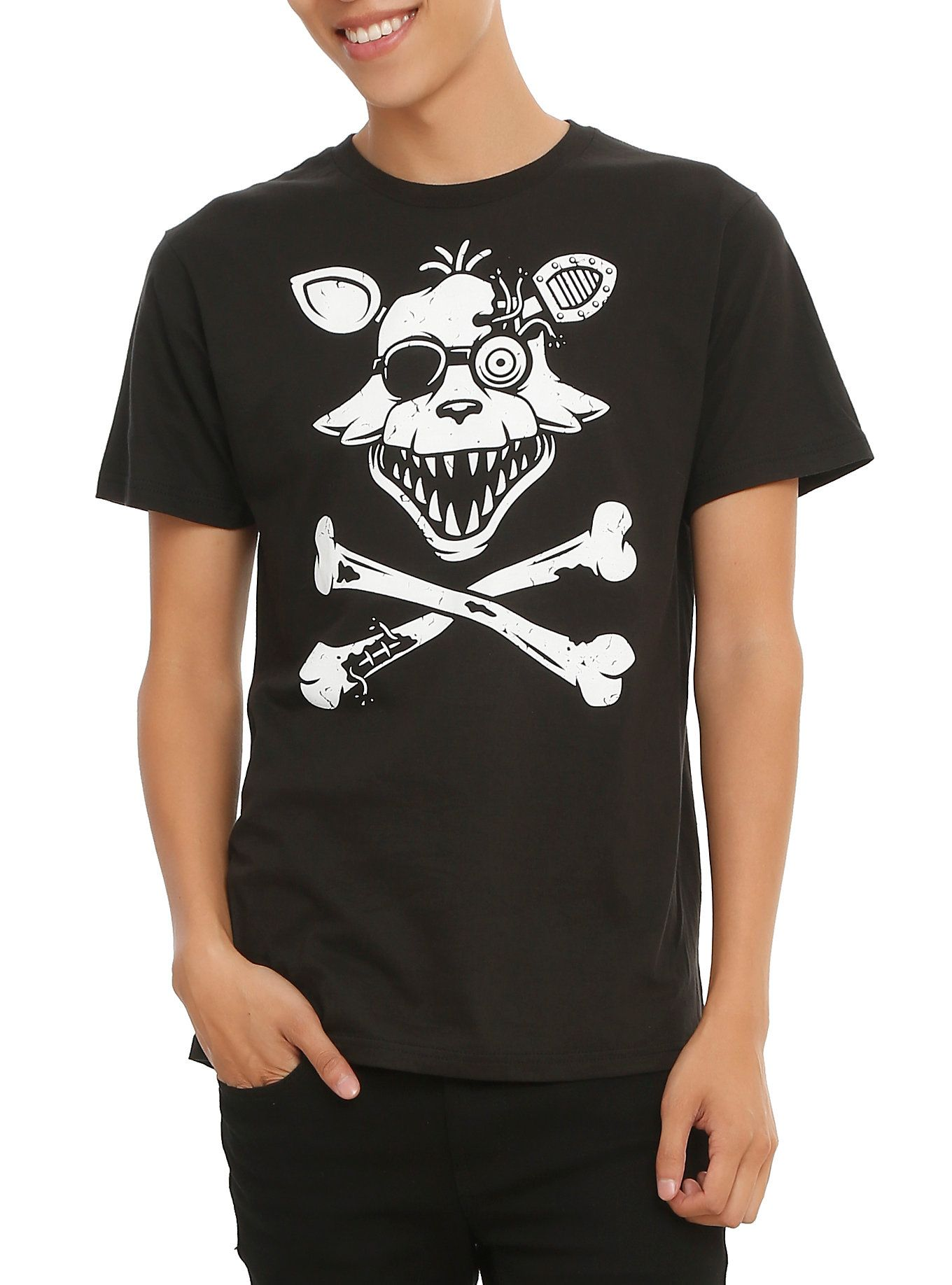 Five Nights At Freddy's Foxy Crossbones T-Shirt | Hot Topic