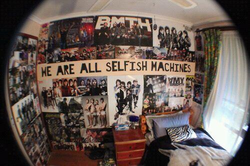 tumblr  bedroom idea  punk room punk bedroom grunge room
