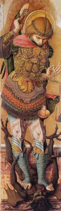 St. Michael c1476  Carlo Crivelli