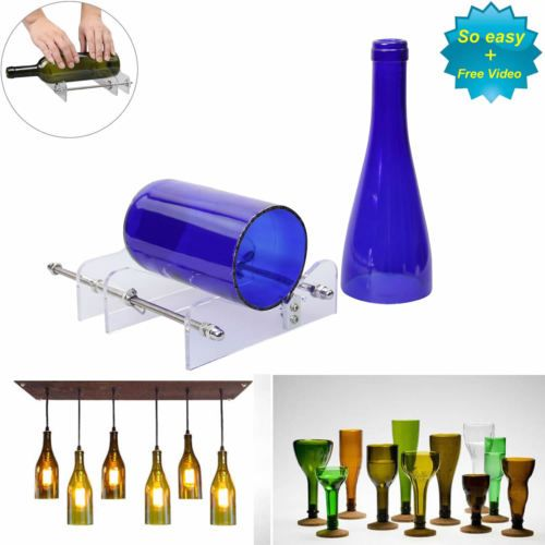 Glass Bottle Cutter Kit Beer Wine Jar DIY Cutting Machine Craft Recycle Tools