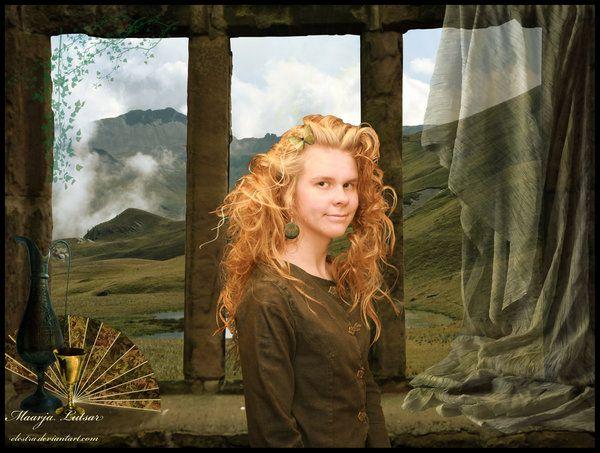 Ambergold by Elestra.deviantart.com on @deviantART