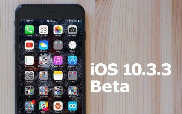 Apple rilascia la beta 2 di iOS 10.3.3 tvOS 10.2.2 e watchOS 3.2.3
