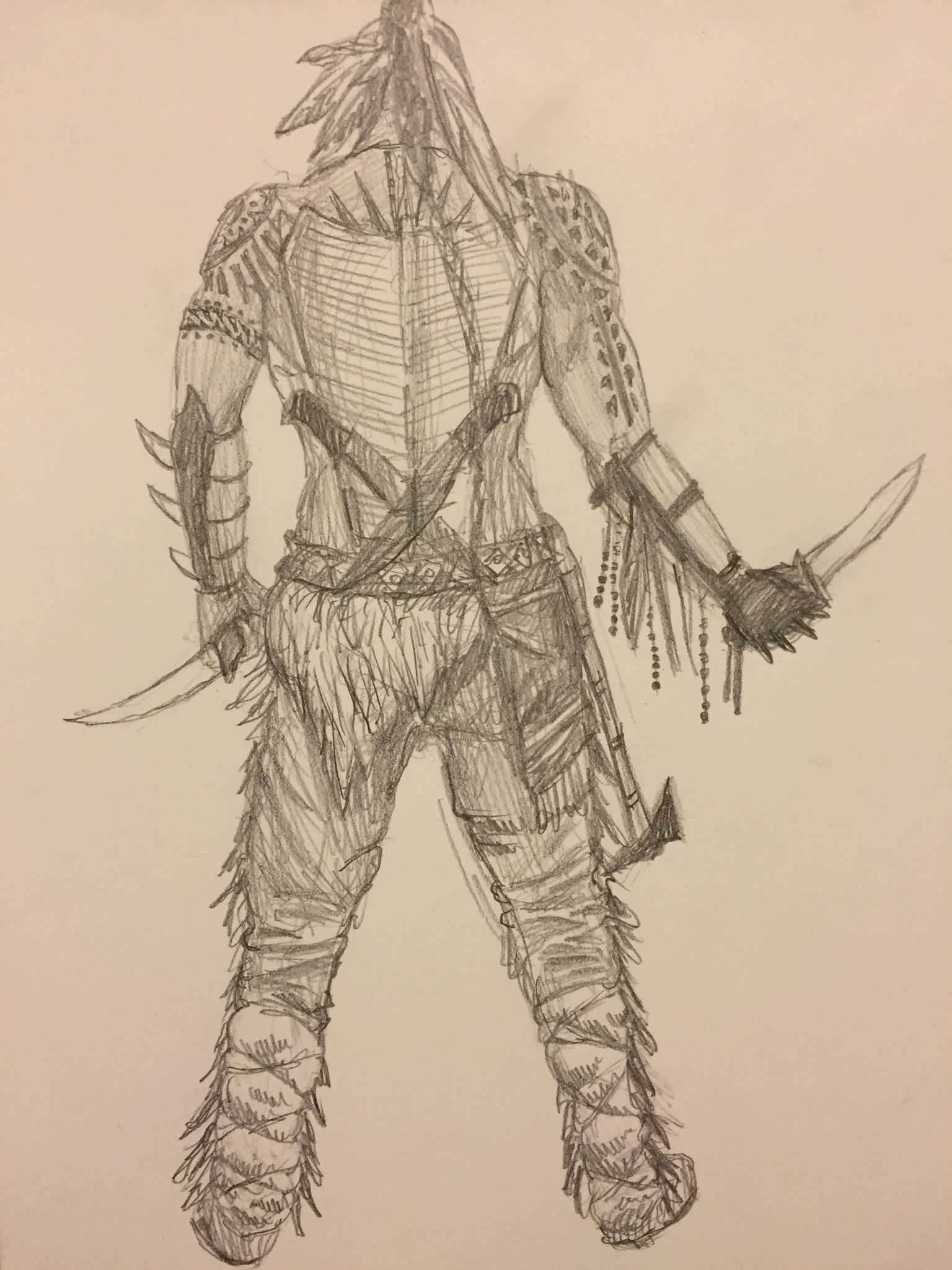 Turok Son Of Stone Character Design Costume Sketch By Yasha Puzankov Character Design Sketches Sketch Show