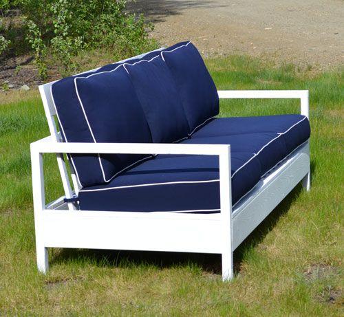 42 Diy Sofa Plans Free Instructions Mymydiy Inspiring Diy Projects Outdoor Sofa Diy Outdoor Furniture Outdoor Furniture Plans