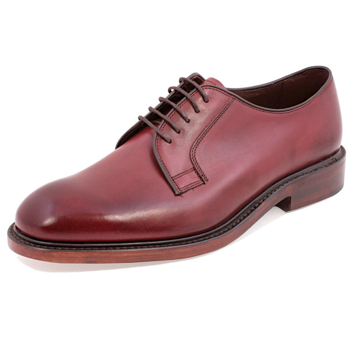 Perth Shoes The Loake Perth In Burgundy Derby Shoe Genius My