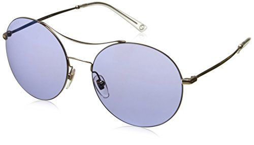 47c3d962ab3 Gucci Sunglasses 4252 Frame Gold Copper Lens Lilac Mirror Blue   More info  could be found at the image url.