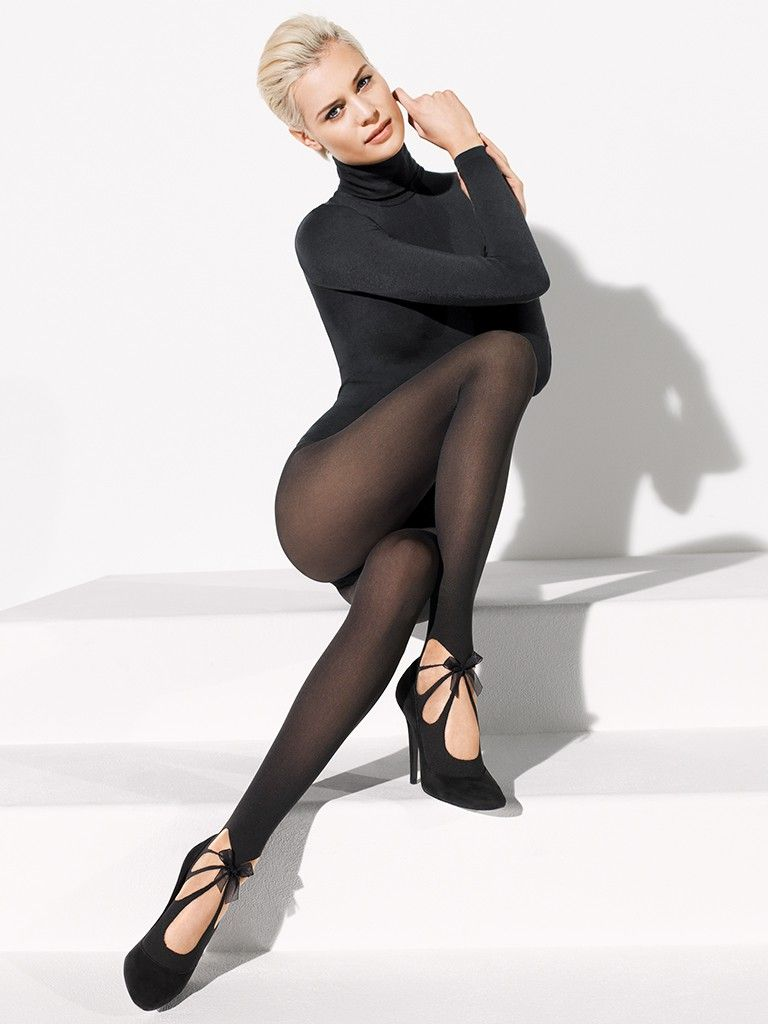 Fashion look from january 2016 featuring pink opaque tights round - Wolford Felicitas Tights From The Tight Spot Com Sheer Black Tights Tied Together With Opaque Tightsblack Tightsfashion