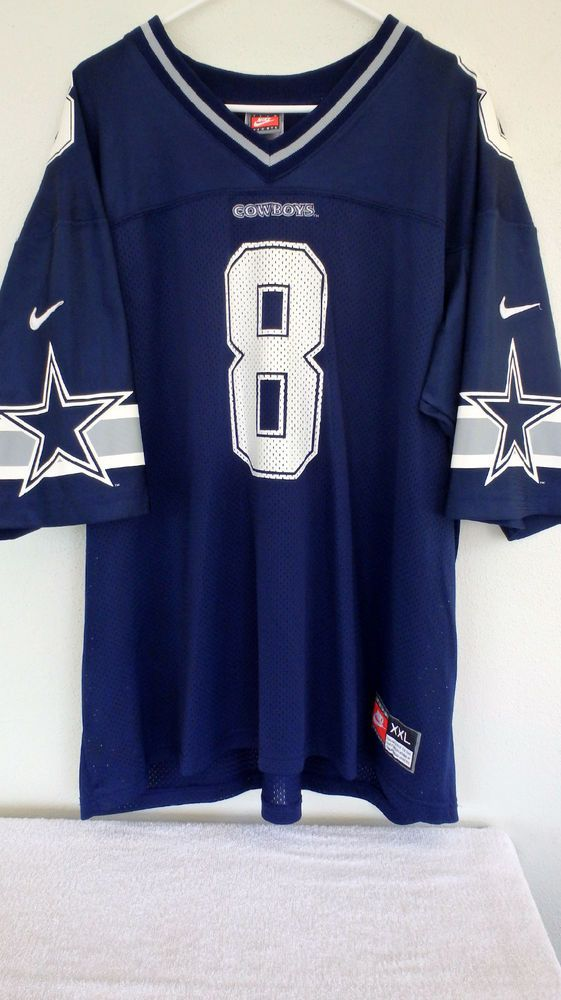bb660570 Team Nike Dallas Cowboys #8 Troy Aikman Home Jersey 1990's Vintage Mens XXL  #Nike #DallasCowboys