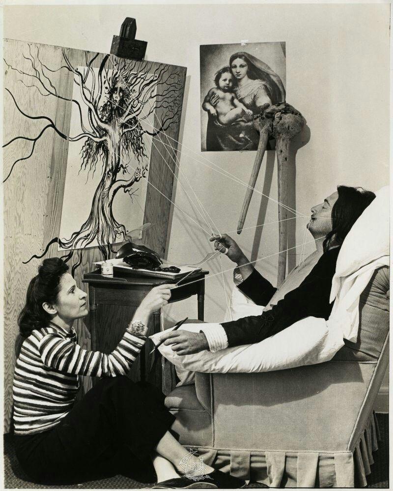 Gala and Salvadore Dali