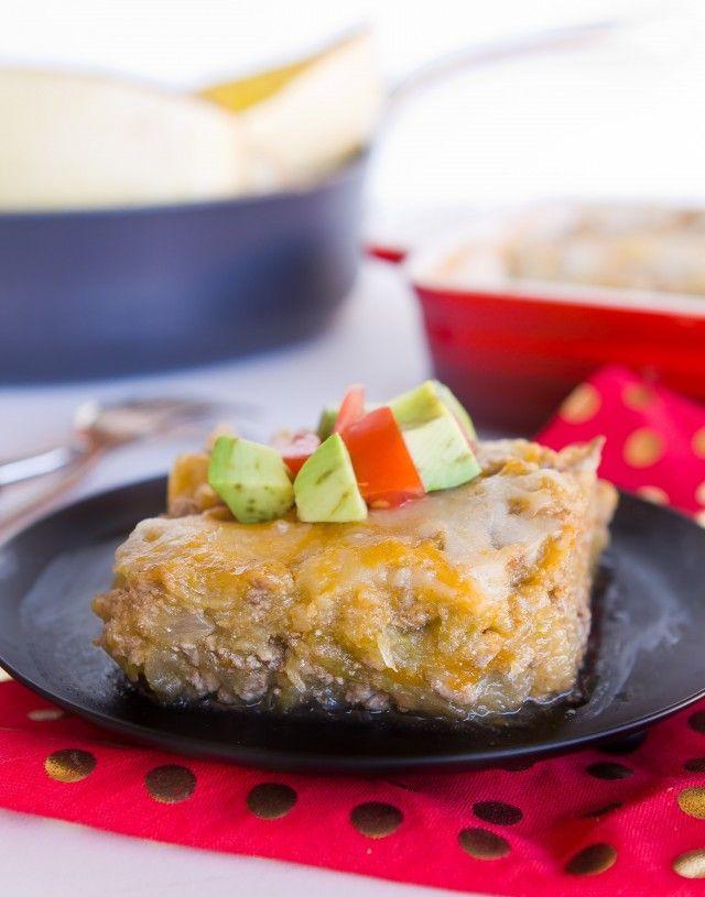 Mexican Spaghetti Squash Bake - A Zesty Bite