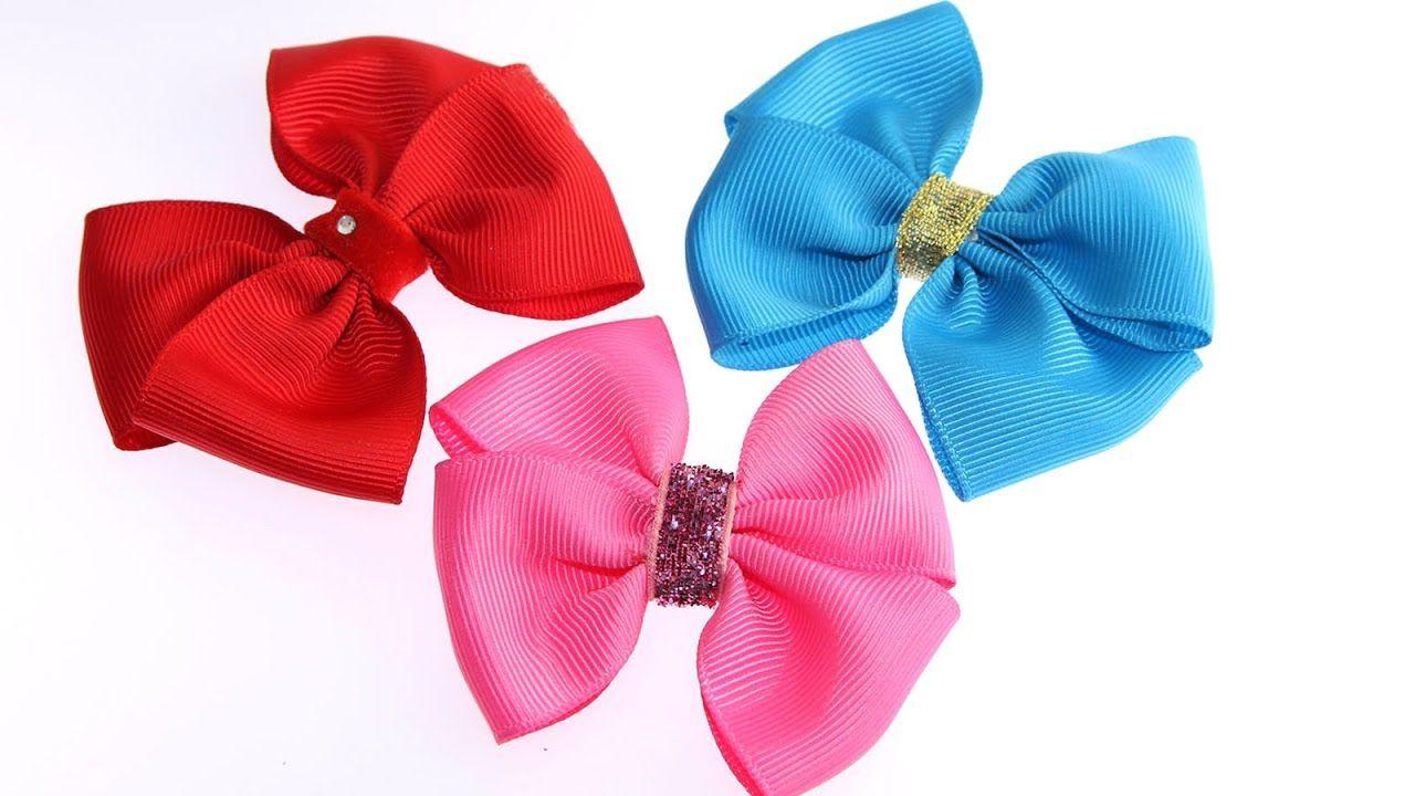 How to make a ribbon bow diy hair bows mct you tube videos how to make a ribbon bow diy hair bows baditri Image collections