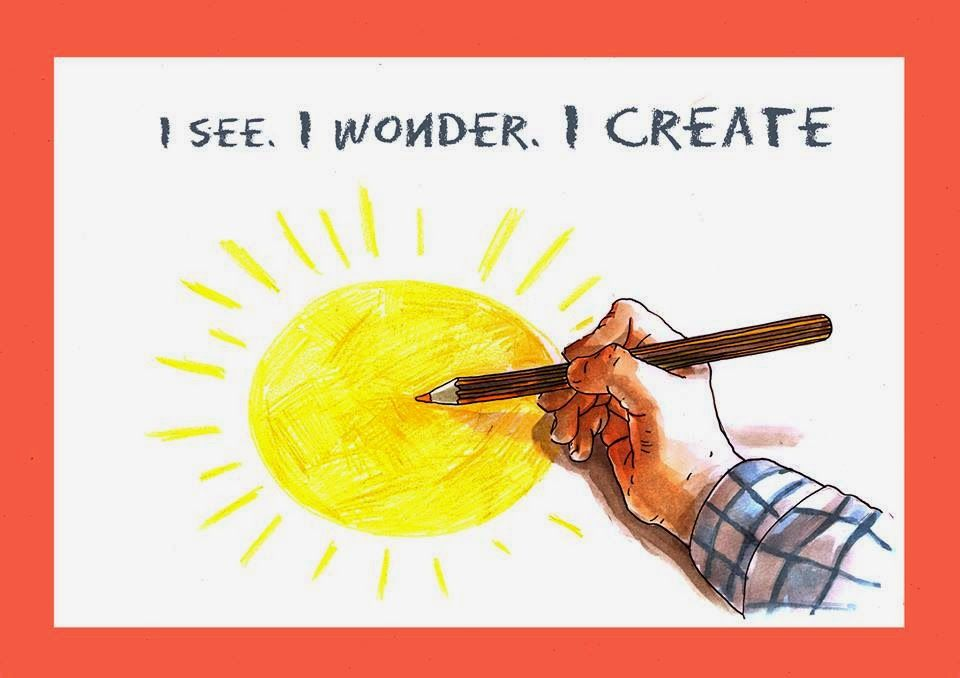 I See. I Wonder. I Create. An Art Activity Book