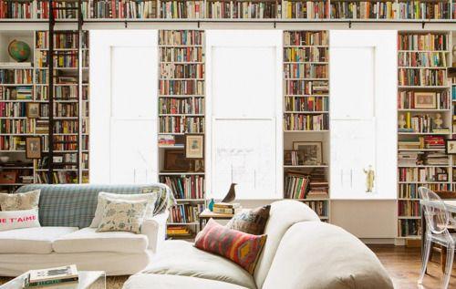 """amandaonwriting: """" Bookshelves """""""