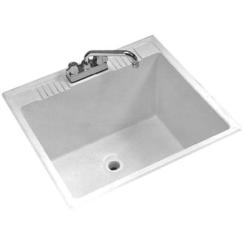 81 On Sale D 13 Fiat Dl1 Molded Stone Laundry Tub White