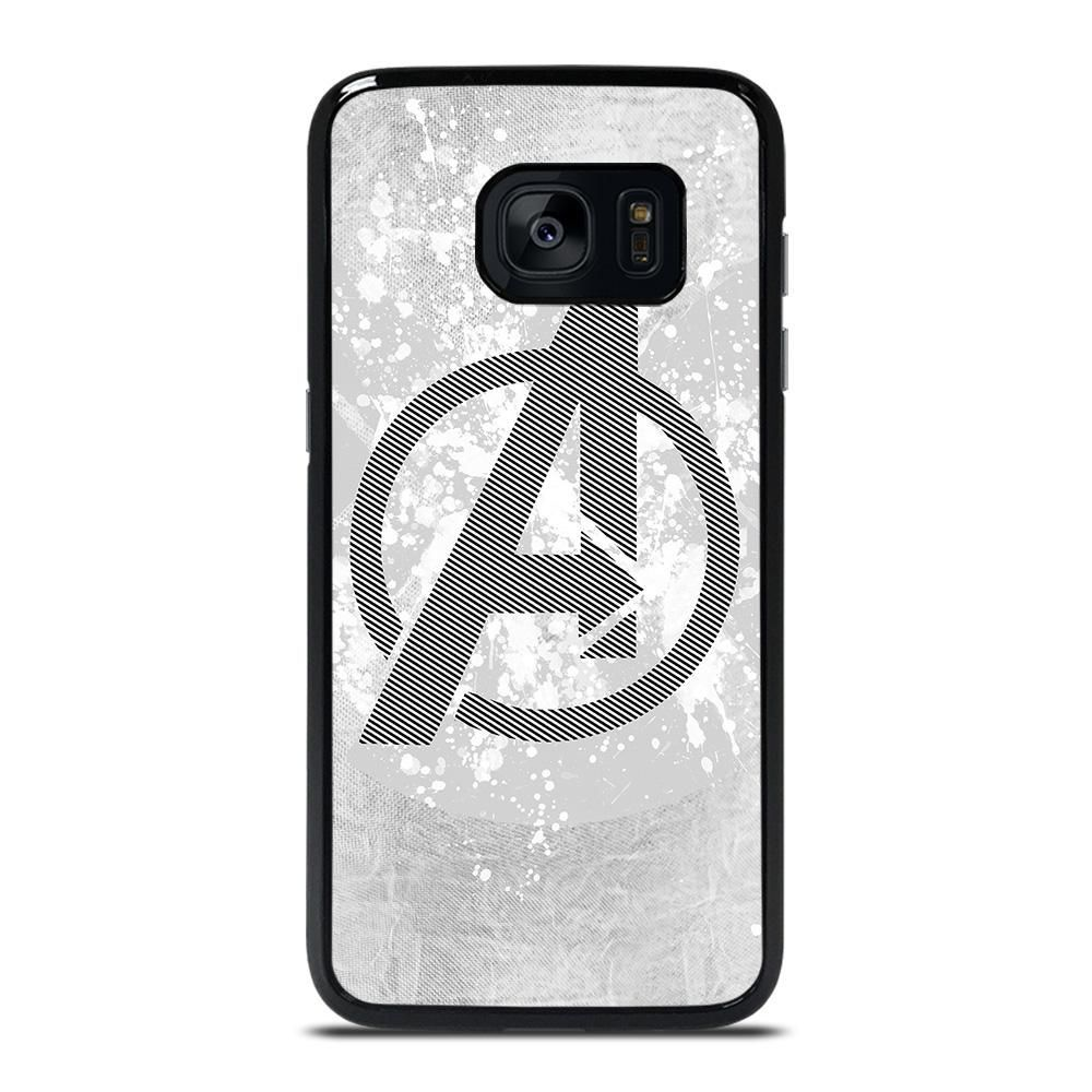 Avengers Marvel Logo 2 Samsung Galaxy S7 Edge Case Casefine Samsung Galaxy S7 Edge Cases Samsung Galaxy S7 Edge Samsung S7 Edge Cases
