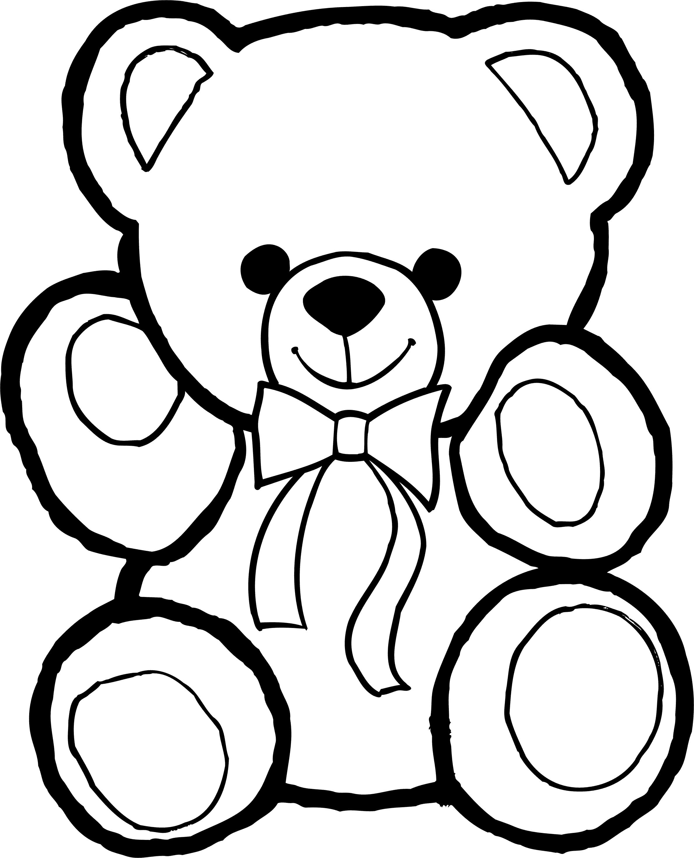 Картинки по запросу мишка игрушка рисунок | Раскраски