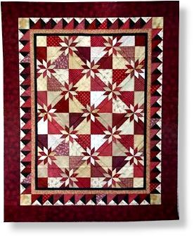 Hot Flash Pattern by Deb Tucker - Texas Quilt Shop | Quilts ... : quilt shop texas - Adamdwight.com