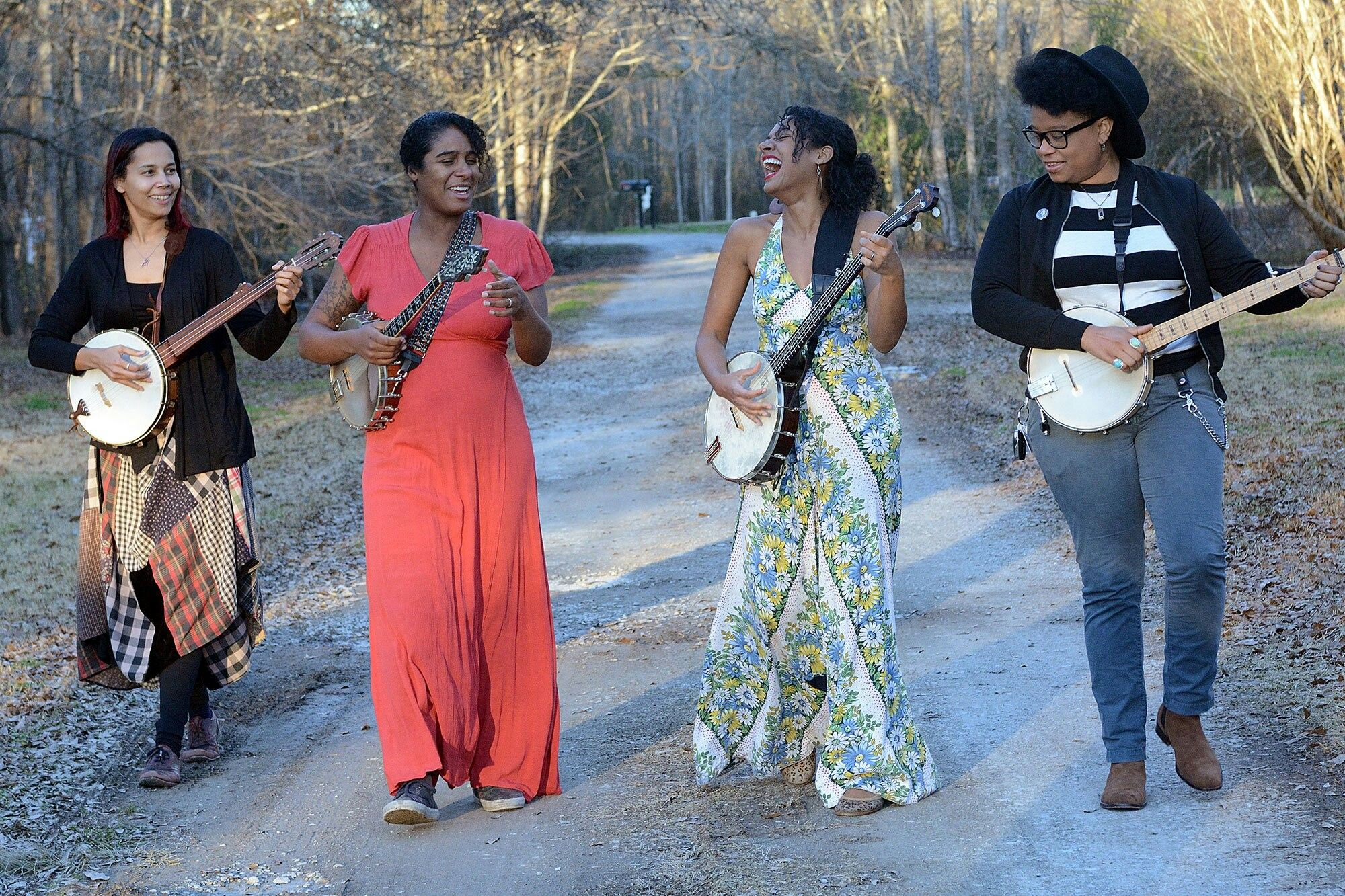 Our Native Daughters Roots music, Daughter songs, News songs