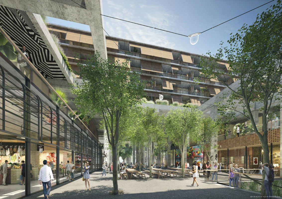 cool Herzog & de Meuron's Mixed-Use 6AM in Los Angeles is Taking Long, New Study Reveals Check more at http://www.arch2o.com/herzog-de-meurons-mixed-use-6am-los-angeles-taking-long-new-study-reveals/