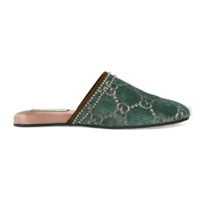 2d20557460c The Absolute Best Gifts for Your Mom This Holiday Season. Gucci GG Velvet  Slipper