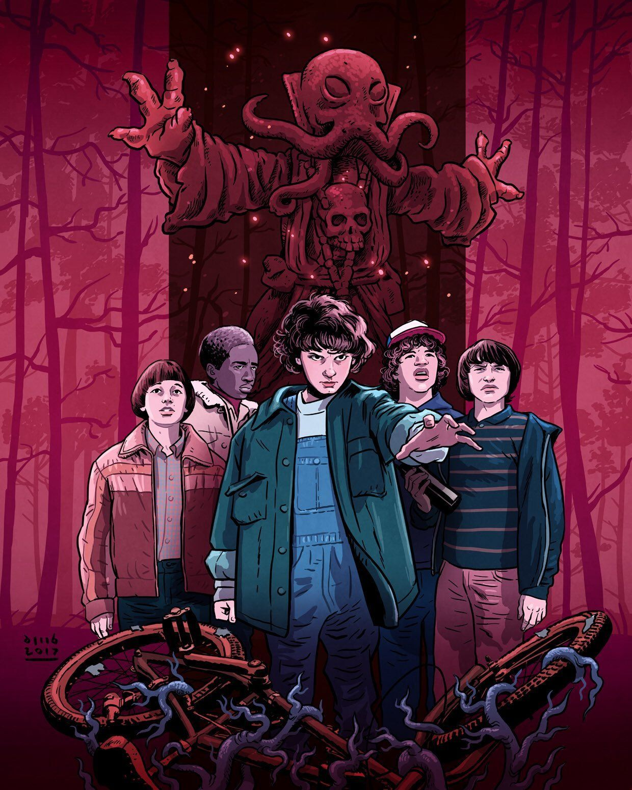 Hd Stranger Things Phone Wallpapers Objective Is To Serve Astonishing Hd Wallpapers To Many Str Stranger Things Poster Stranger Things Fanart Stranger Things 2