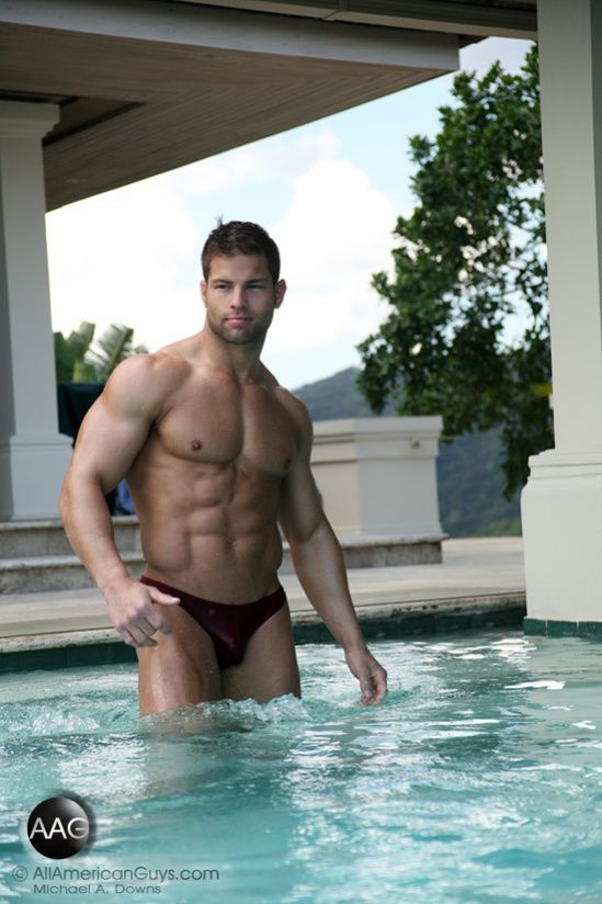 Cute Muscular Guys Leisure