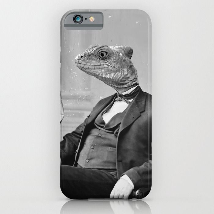 DR. LIZARD iPhone & iPod Case