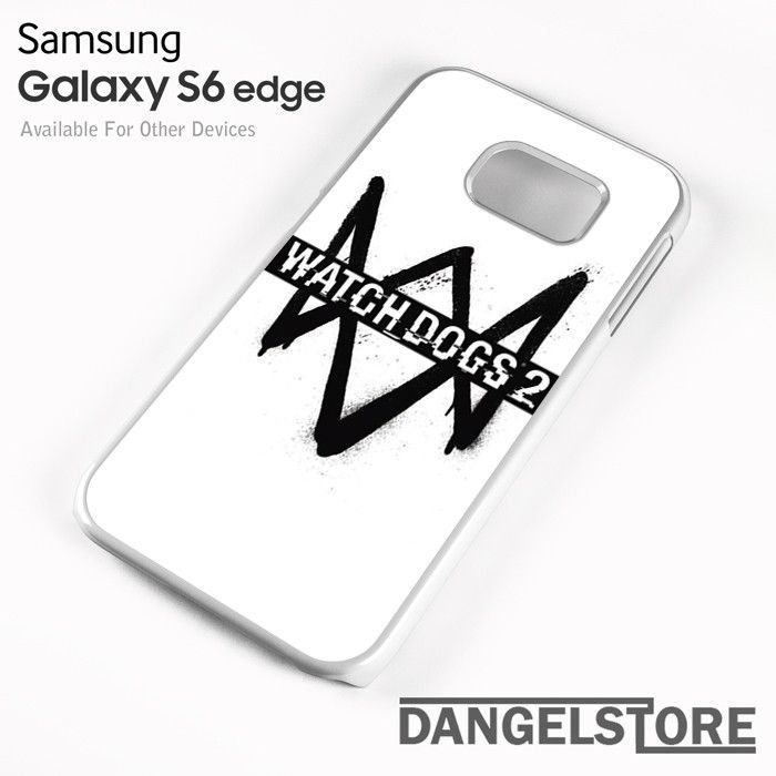 Watch Dogs 2 Logo - Z For Samsung S6 Edge Case