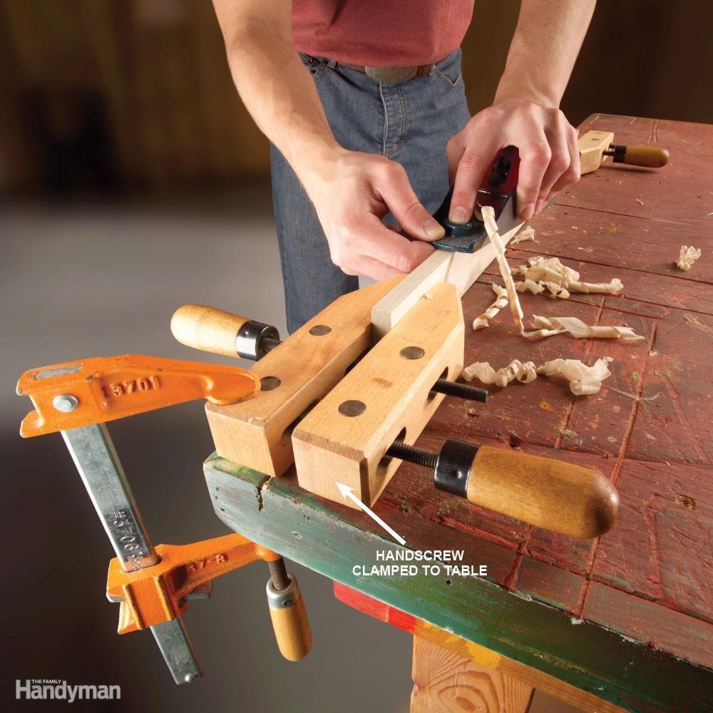 Instant Bench Vise woodworkinghandtoolsbench