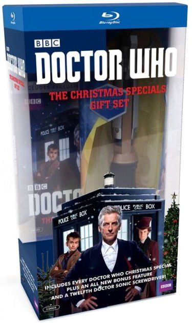 Doctor Who: Christmas Specials Giftset (Blu-ray) $26.14  Tax #LavaHot http://www.lavahotdeals.com/us/cheap/doctor-christmas-specials-giftset-blu-ray-26-14/146705?utm_source=pinterest&utm_medium=rss&utm_campaign=at_lavahotdealsus