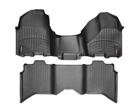 2012 2016 Dodge Ram Truck Weathertech Floor Liners Full Set Includes 1st And 2nd Row Over The Hump Over The Hum Weather Tech Dodge Trucks Ram Ram Trucks 1500