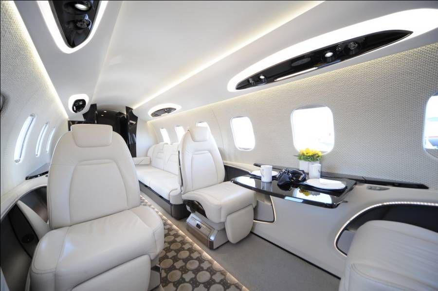 Go Inside the New Learjet 85