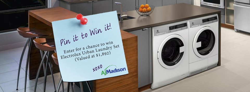 Don't you deserve the chance to spice up your laundry room! Enter for a chance to win Electrolux Urban laundry pair valued at $1,892!  Rules: http://bit.ly/1GB6hcY  Pin your dream Laundry room for a chance to win Electrolux Urban laundry pair valued at $1,892 #laundryroom #electrolux