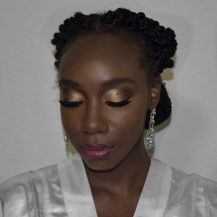 Black Bride Makeup African American Natural Houston Tx Makeup Artist