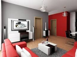Image Result For Red And Black And White Living Room  Home Decor Gorgeous Simple Interior Design Ideas For Small Living Room Design Inspiration