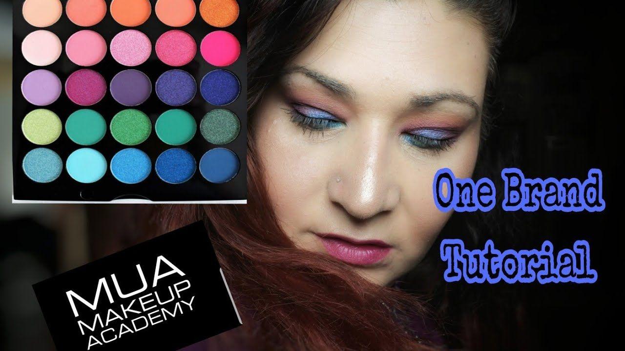 MUA Makeup AcademyONE BRAND TUTORIALMarias Beauty_nails