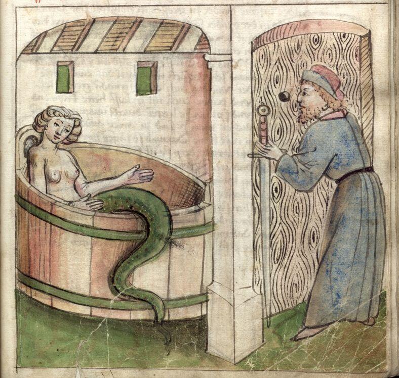 Секс с дьяволом средние века рисунки