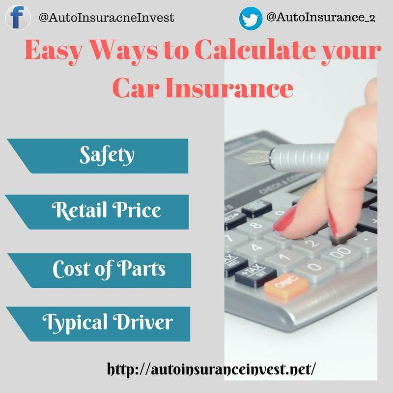 Ways To Calculate Your Car Insurance Premiums Car Insurance Low