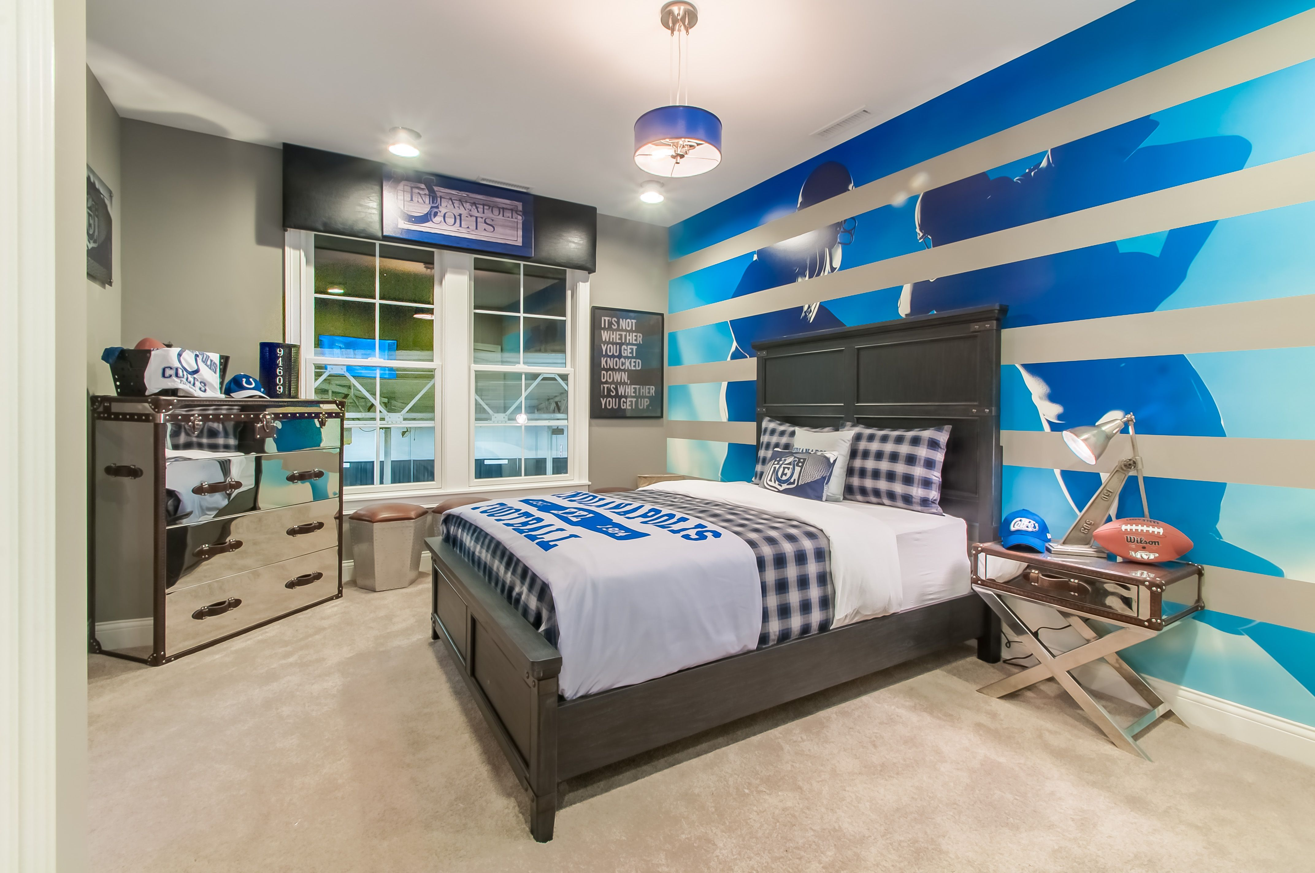 Fischer Homes Allerton Indianapolis Colts Themed Bedroom Home