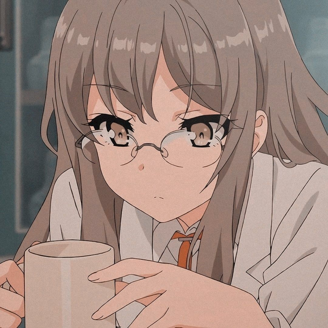 Rio Futaba Icon ☕   Cute anime character, Aesthetic anime, Anime